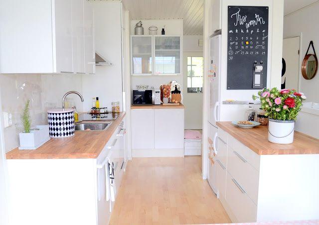Comment decorer ma cuisine blanche - Deco cuisine blanc et bois ...