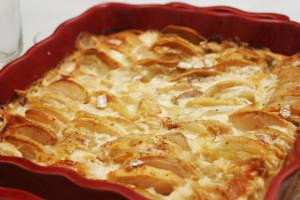 gratin pommes celeri