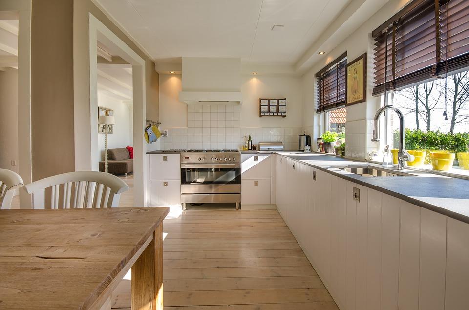 Une cuisine spacieuse passe aussi par son agencement